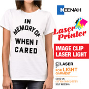 ImageClip - Laser Printer / White or Light Colored Garments