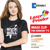 ImageClip Koncert Ts - Laser Printer / Dark Colored Garments