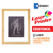 Exostencil Screen Prep - Laser Heat Transfer Printer