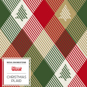 "Siser EasyPatterns 2 - 12"" wide - Christmas Plaid"
