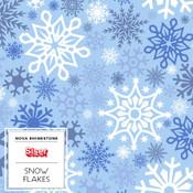 """Siser EasyPatterns 2 - 12"""" wide - Snowflakes"""
