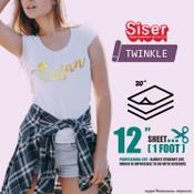 "Siser Twinkle - 20"" x 12"" Sheet"
