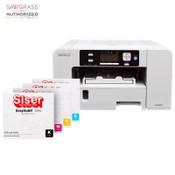 Sawgrass SG500 Sublijet HUD Sublimation PRINTER KIT with SISER EasySubli Inks