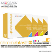 Sawgrass ChromaBlast UHD Sublimation Ink Cartridges for SG500 / SG1000