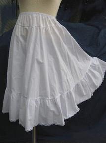 Petticoat prairie length broadcloth