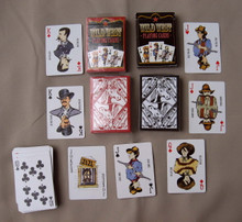 Playing cards western set of 2 decks