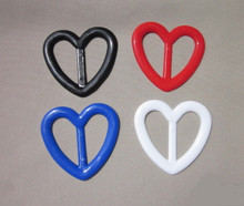 Tee shirt clip heart shape primary colors