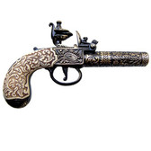 Pocket Pistol by Kumbley & Brum, London 1795 - Brass