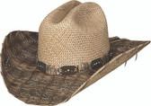 RAIN DROPS Straw Cowboy Hat by Bullhide® Hats.