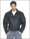 Mens Braided Pisto Pete Motorcycle Jacket