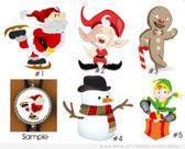Christmas Bolo Ties