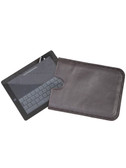 I-PAD SLEEVE.  SECURELY HOLDS I-PAD.  VERY SLIM.  DETAILED CIRCLE BORDER DESIGN.  IMPORT.