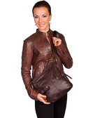 Leather Black or Brown Handbag