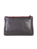 COSMETIC BAG.  LEAK PROOF LEATHERLIKE LINING.  ZIP CLOSURE.  IMPORT.