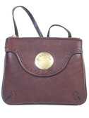 TOP ZIP CLOSURE.  SHOULDER STRAP 25 INCH CLEARANCE.  FRONT FLAP WITH MAGNETIC SNAP AND OPEN POCKET.  IMPORT.