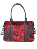 Hair on Calf Red Handbag