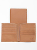 LEATHER HIPSTER.  BILL DIVIDER.  CREDIT CARD POCKETS.  VERTICAL POCKETS.  IMPORT.