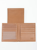LEATHER HIPSTER W/ID WINDOW.  BILL DIVIDER.  CREDIT CARD POCKETS.  VERTICAL POCKETS.  ID WINDOW.  IMPORT.