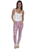 E108-MEDIUMUL-SMALL SIZE  MISSY CUT COTTON BLEND JEGGINS.  32 INCH INSEAM TAPERED LEGS..