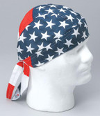 American Flag Headwrap