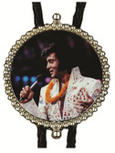 Elvis in Hawaii Bolo Tie Made in the USA