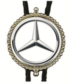 Mercedes Benz Bolo Tie