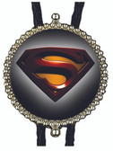 Superman Logo Bolo Tie