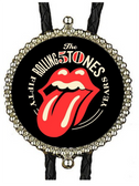 The Rolling Stones 50 years Bolo Tie