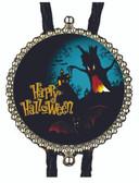 Happy Halloween Bats Bolo Tie