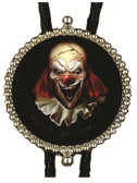 Happy Halloween Scary Clown Bolo Tie