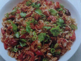 The Old West Gallery Recipe (Cajun Crawfish Fried Rice)