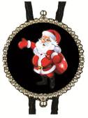 Christmas Santa Bolo Tie