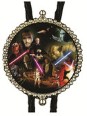 STAR WARS CHARACTERS (2) BOLO TIE
