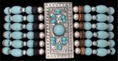 Silver Strike Southwestern Style Turquoise Bracelet