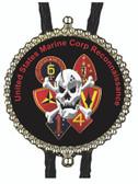United States Marine Corp Reconnaissance Bolo Tie
