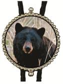 Black Bear Bolo Tie