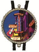 Nashville Music Bolo Tie