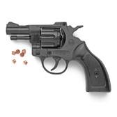 Wood Grip Olympic 6MM Blank Firing Revolver