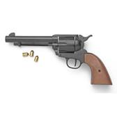 Old West M1873 Black Finish Blank Firing Revolver