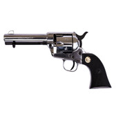 Old West M1873 9mm Nickel Finish Fast Draw Blank Firing Revolver