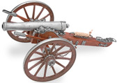 Civil War Miniature 12 Pounder Cannon