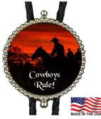 Cowboys Rule! Bolo Tie