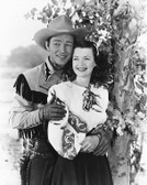 Roy Rogers  and Dale Evans 8x10 Fuji Film Photo