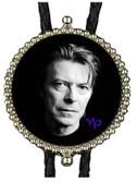 David Bowie Black & White Silhouette Bolo Tie