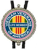 Vietnam Vets of America  Life Member Bolo Tie
