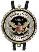 United States Army Military Police Bolo Tie