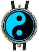 Blue Yin & Yang Bolo Tie