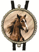 Mustang Horse Bolo Tie