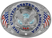 United States of America Belt Buckle