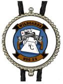 Helicopter Sea Combat Squadron 23 (HSC-23) Bolo Tie , White Background